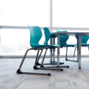 Alphabet student chairs